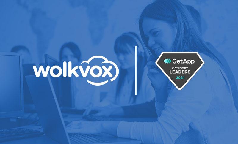 Wolkvox CRM reconocida por GetApp como Top CRM and Customer Service Software 2021